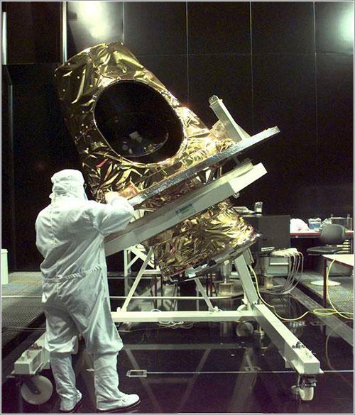 El SEVIRI durante su preparación - Matra/Marconi
