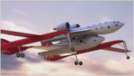 Uno de los conceptos iniciales de SpaceShipTwo