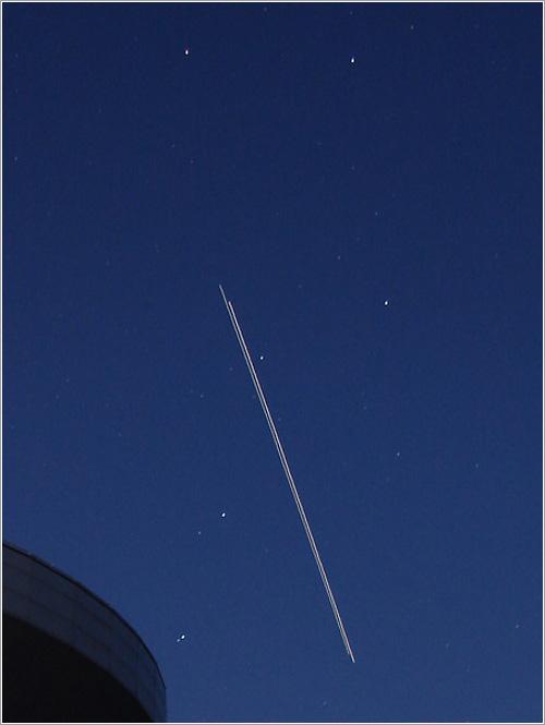 ISS y Discover - detalle por José Luis Cano