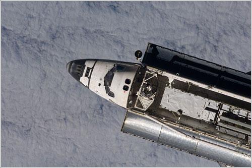 El Discovery llegando a la ISS - NASA