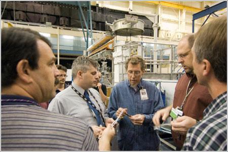 Buscando soluciones al problema del panel solar / NASA