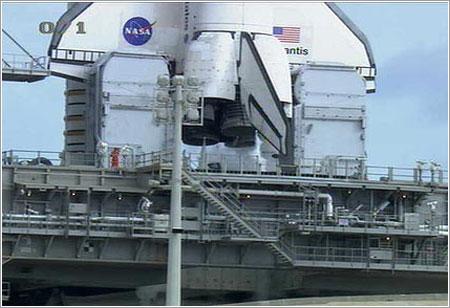 Última inspección en marcha - NASA TV