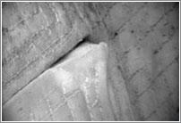 Detalle de la manta térmica