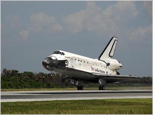 Aterrizaje del Discovery tras la misión STS-124 - NASA/Kim Shiflett