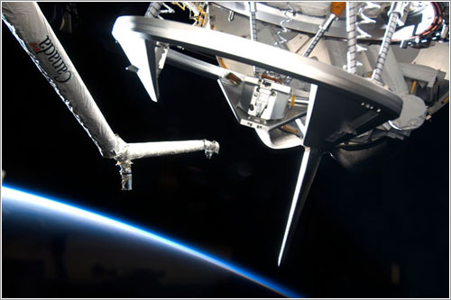 Anillo de acoplamiento del Discovery - NASA