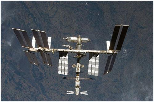La ISS después de la misión STS-124 - NASA