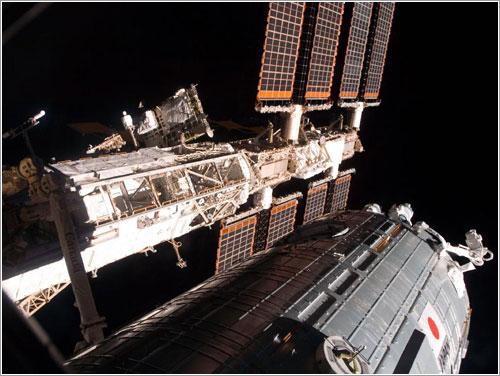 Kibo ya instalado - NASA