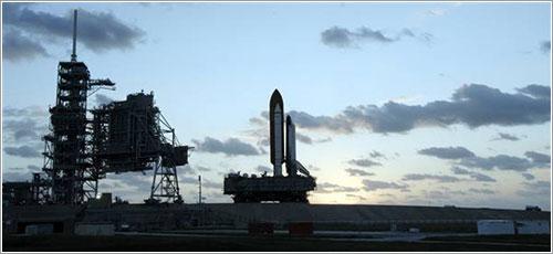Atlantis de vuelta al VAB - NASA