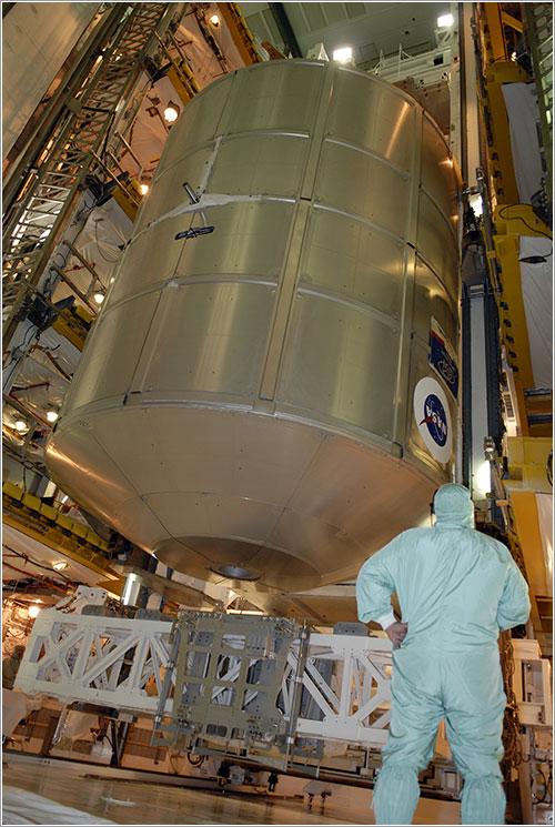 Módulo de carga Leonardo - NASA/Kim Shiflett