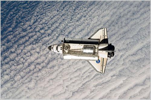 El Endeavour llegando a la ISS - NASA