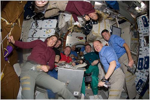 Las dos tripulaciones - NASA