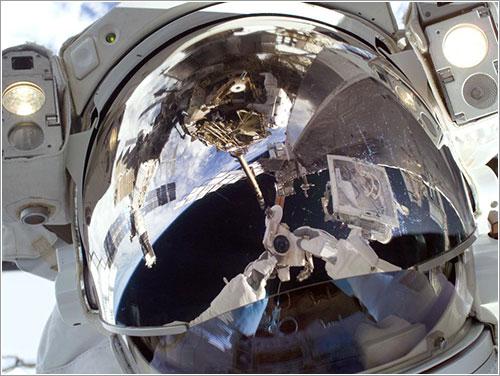 Autorretrato de Satcher - NASA