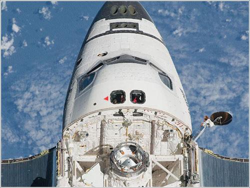 El Endeavour desde la ISS - NASA
