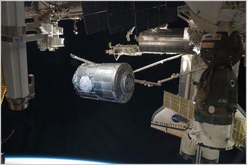 Tranquility siendo trasladado - NASA