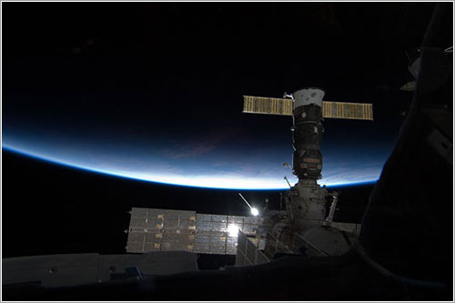 La vista desde la Cúpula - NASA