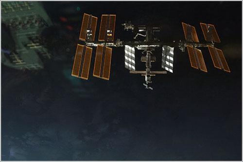 La ISS desde el Endeavour - NASA