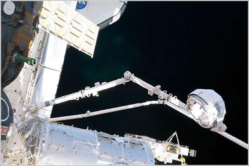 La Cúpula camino a su ubicación - NASA