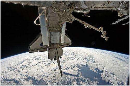 Leonardo almacenado para la vuelta - NASA