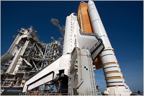 RSS retirada - NASA/Jack Pfaller