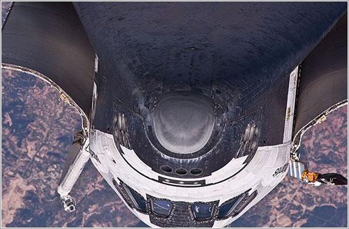 Atlantis durante la RPM - NASA