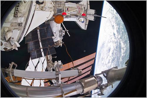 Rassvet en su sitio - NASA