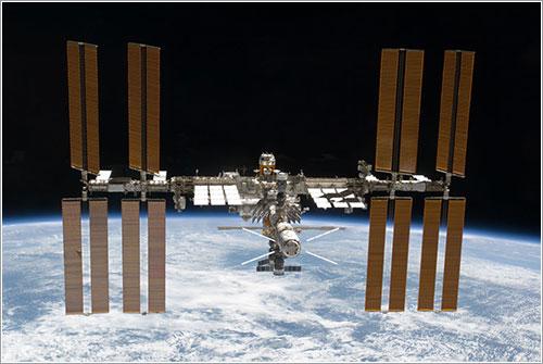 Estado de la ISS al final de la misión - NASA