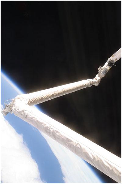 El OBSS en uso - NASA