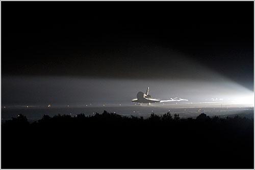 Endeavour aterrizando