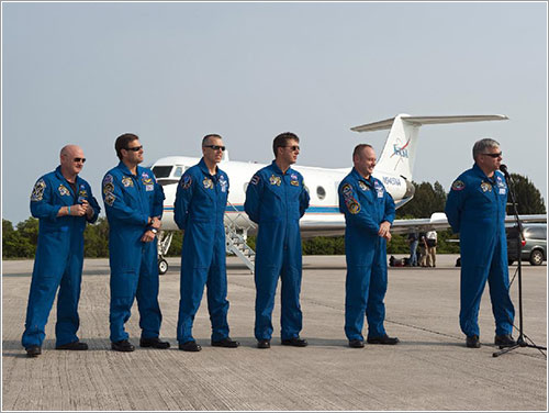 Foto de la tripulación