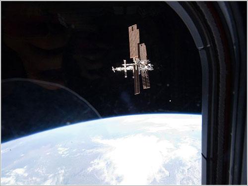 La ISS desde el Atlantis - NASA