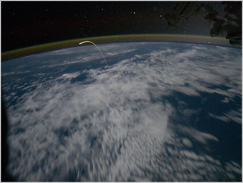 Reentrada desde la ISS