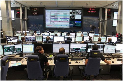 Sala de control del CNES