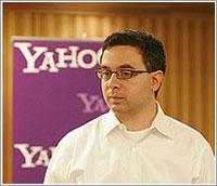 Schachter cuando aún estaba en Yahoo