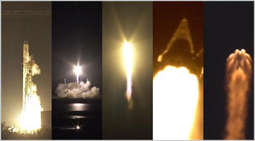 Secuencia del lanzamiento
