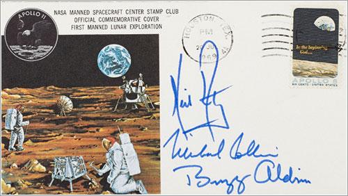 «Seguro de vida» de la tripulación del Apolo 11