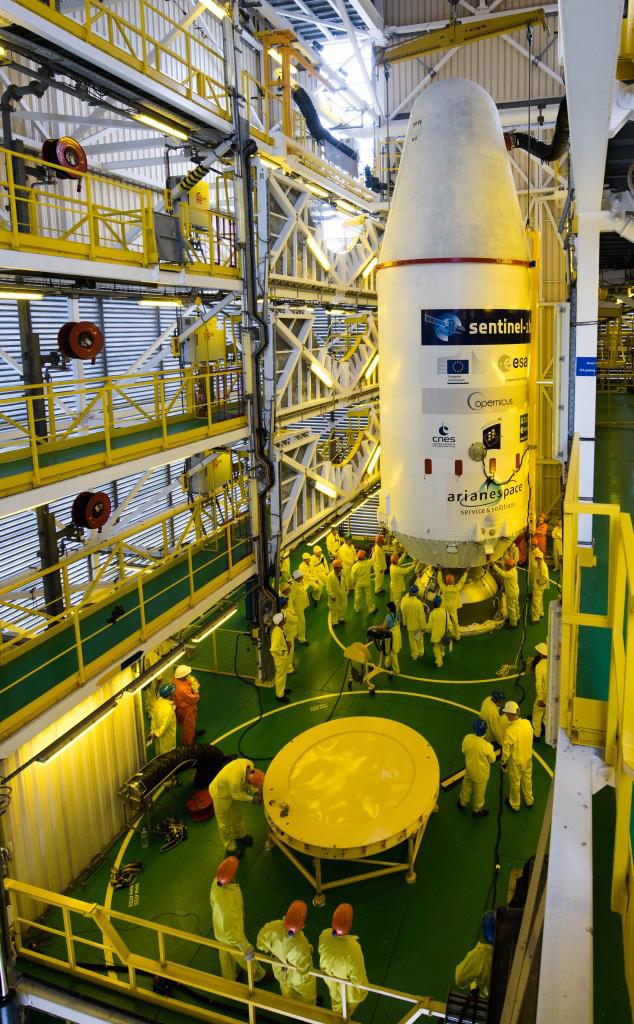 Integración de la carga útil con el lanzador