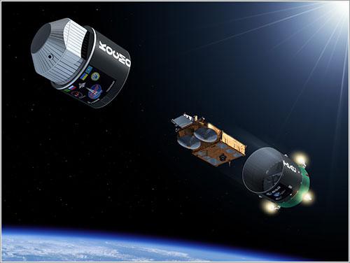 Separación del CryoSat-2 y el cohete lanzador - ESA