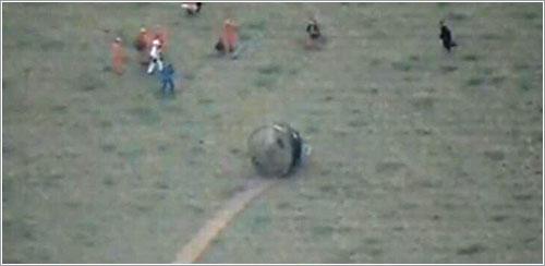 La Shenzhou 10 ya en tierra