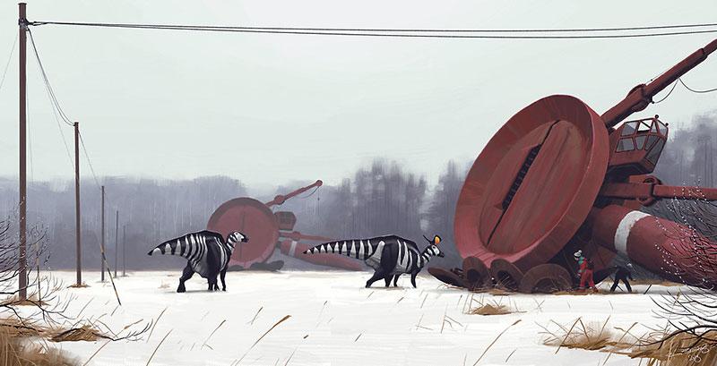 Dinosaurios en Markärret