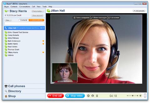 Skype 4 beta para Windows