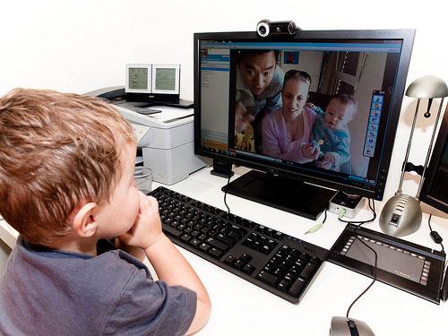 Skype en uso
