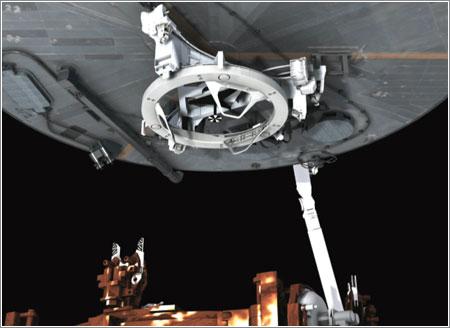 Mecanismo de atraque - NASA