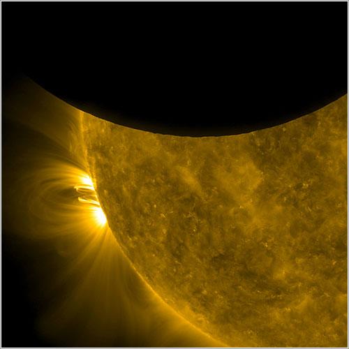 El Sol y la Luna por el SDO