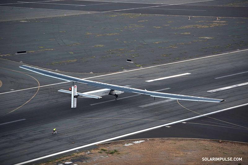 Aterrizaje en Hawaii