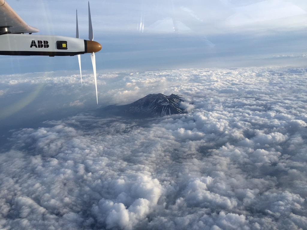 Solar Impulse 2 rumbo a Nagoya
