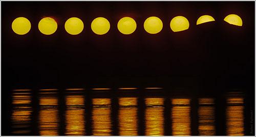 El sol de medianoche y el tránsito de Venus por Babak Tafreshi