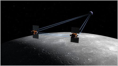 Impresión artística de las sondas en funcionamiento - NASA