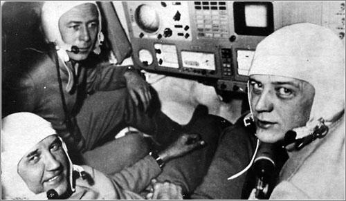 La tripulación de la Soyuz 11