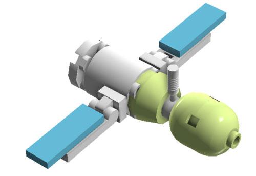 Soyuz en Lego