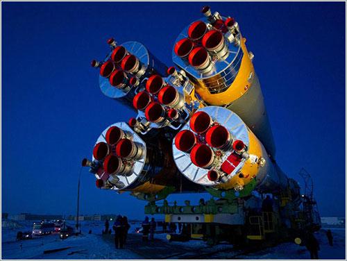 La nave durante su traslado a la plataforma de lanzamiento - NASA/Carla Cioffi